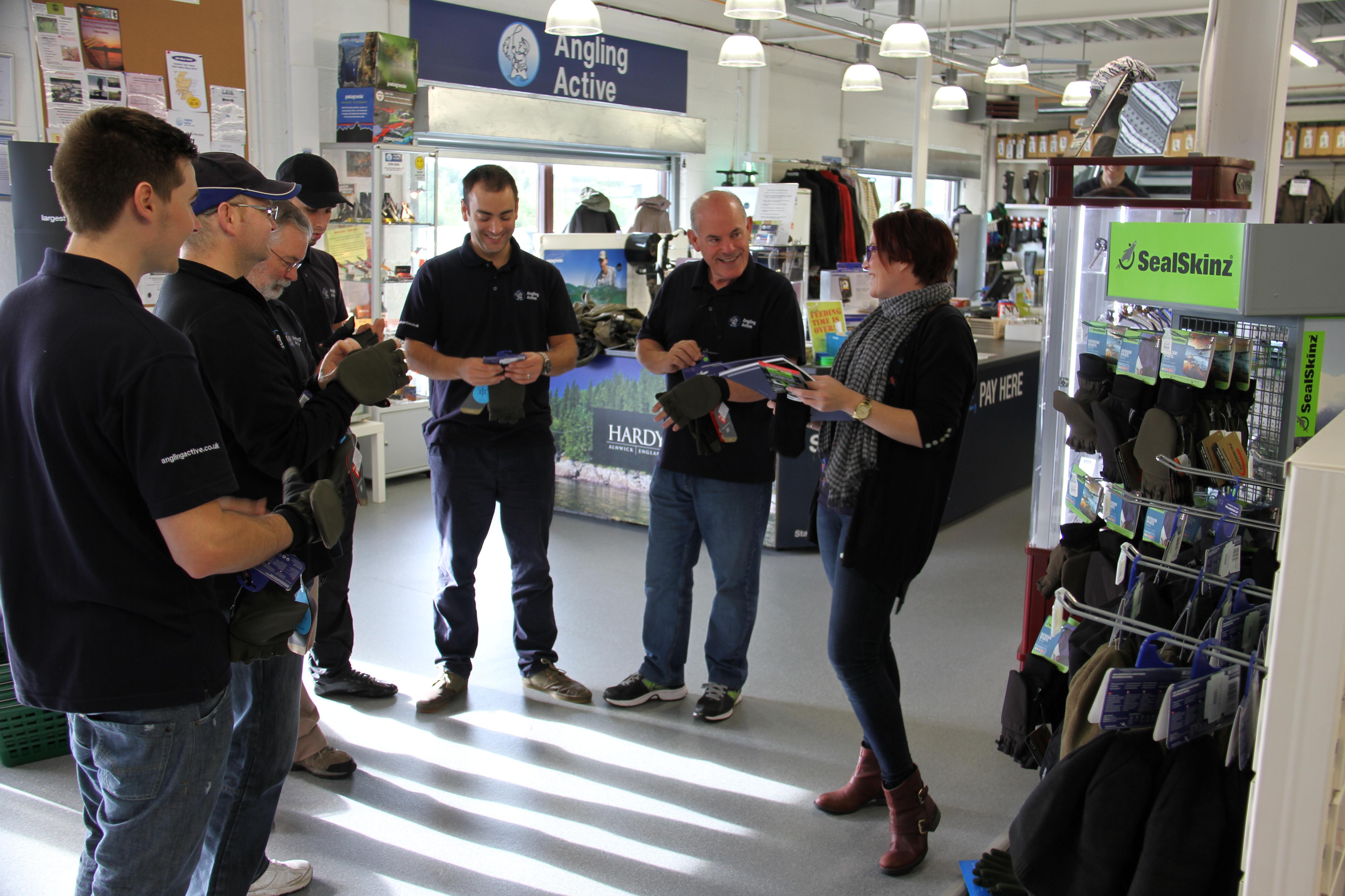 Shop floor lower interior image